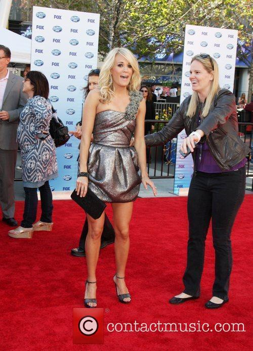 Carrie Underwood and American Idol 1