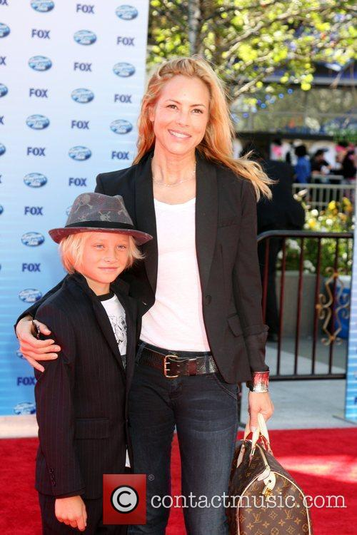 Maria Bello and American Idol 11