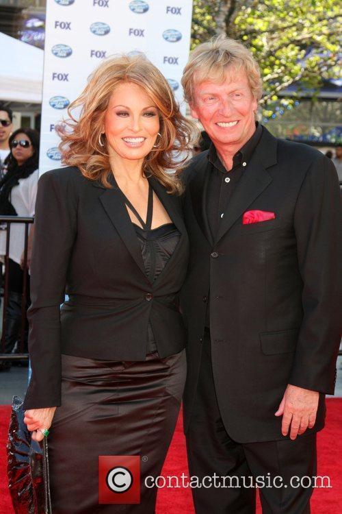 Raquel Welch & Nigel Lythgoe The American Idol...