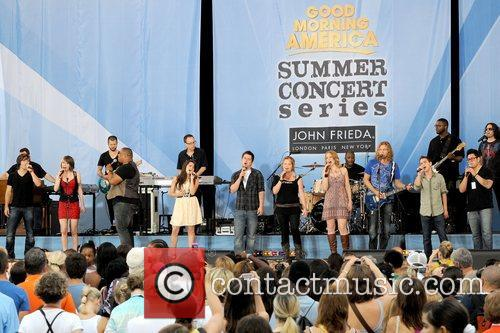 Top Ten Performers 2010 American Idols Live! Tour...