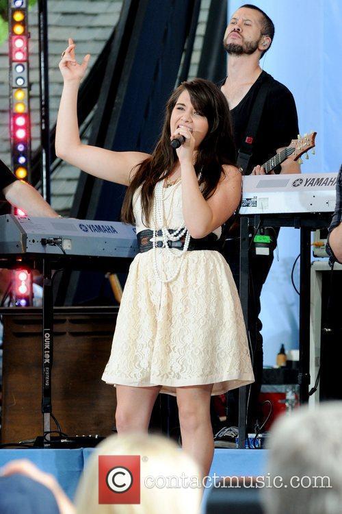 Katie Stevens 2010 American Idols Live! Tour performs...