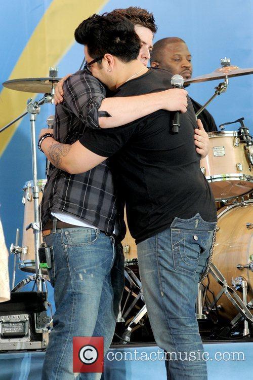 Lee DeWyze and Andrew Garcia 2010 American Idols...