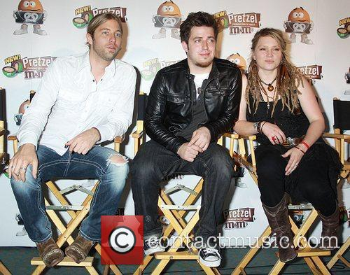 Casey James, Lee DeWyze and Crystal Bowersox from...