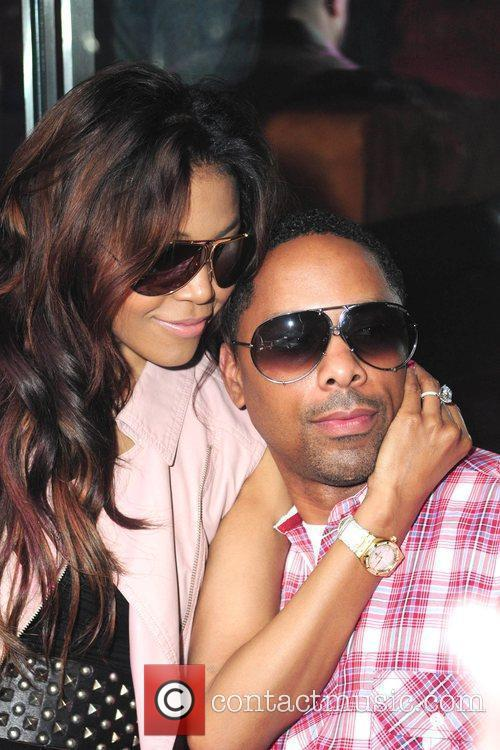Amerie and Her Fiance Lenny Nicholson 3