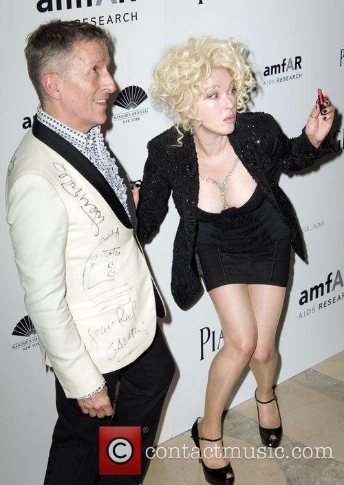 Cyndi Lauper and Simon Doonan  2010 amfAR...
