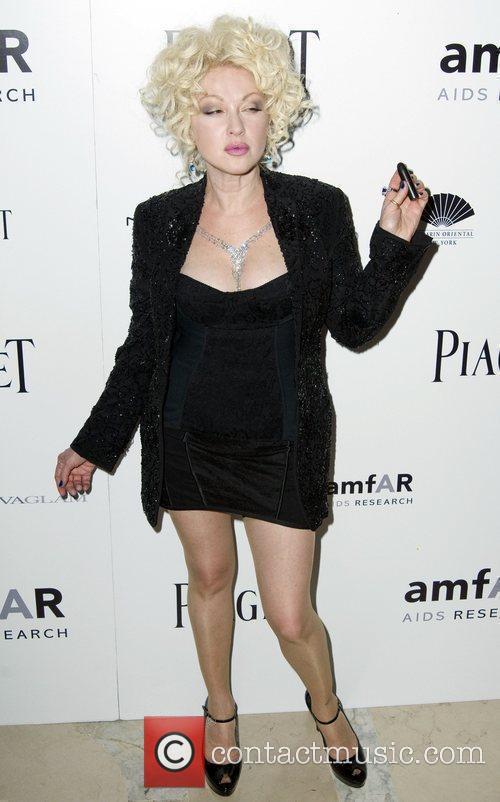 Cyndi Lauper  2010 amfAR New York Inspiration...
