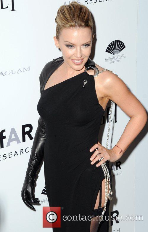 Kylie Minogue  2010 amfAR New York Inspiration...