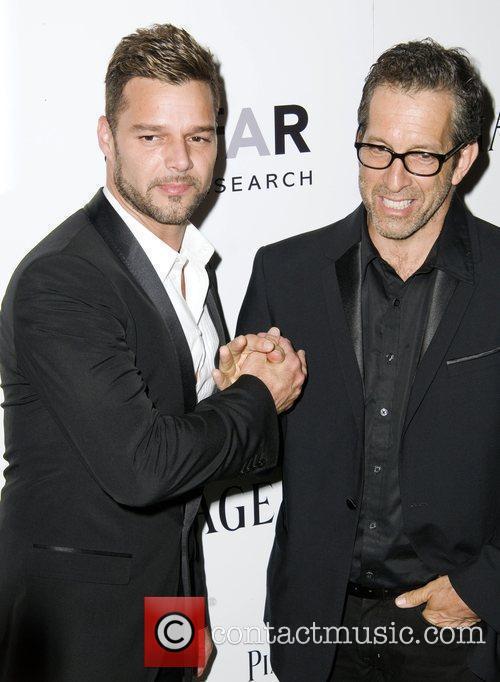 Ricky Martin and Kenneth Cole  2010 amfAR...