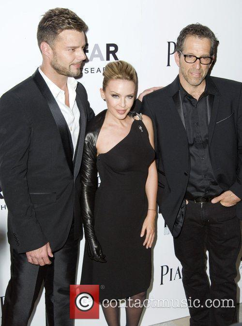 Ricky Martin, Kylie Minogue and Kenneth Cole...