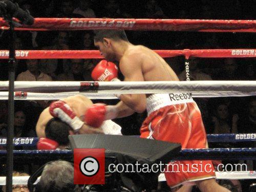 Amir Khan Vs Marcos Maidana at the Mandalay...