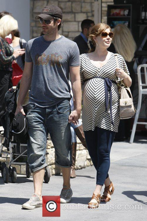 Amy Adams out shopping at The Grove with...