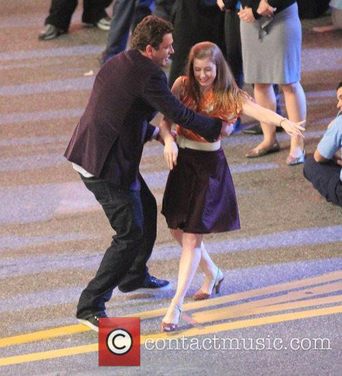 Amy Adams, Jason Segel and The Muppets 2