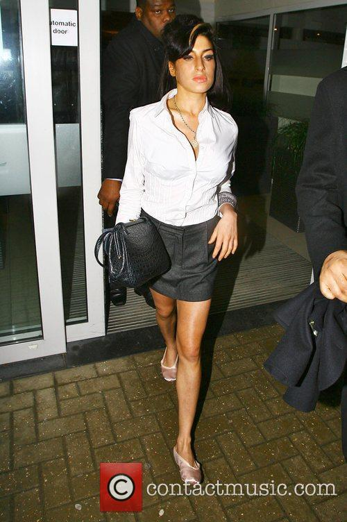 Amy Winehouse leaving Milton Keynes Magistrates Court in...