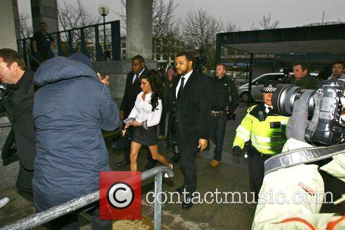 Amy Winehouse arriving at Milton Keynes Magistrates Court...