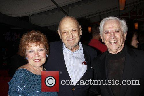 Anita Gillette, Charles Strouse and Luigi Creatore
