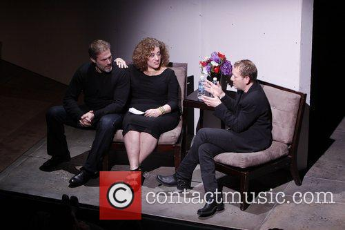 Marc Kudisch, Mary Testa and Michael John LaChiusa...