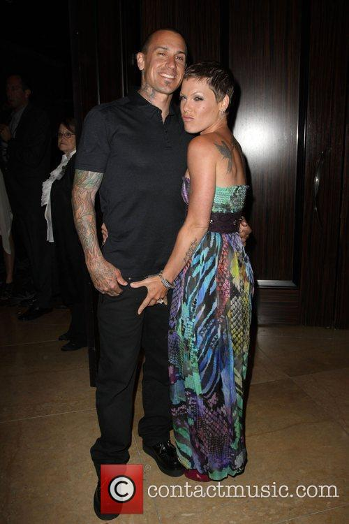 Carey Hart and Alecia Beth Moore Aka Pink 4