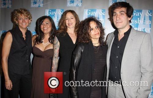 Kelley Lynch, Annie Goto, Shannon Del, Linda Perry, Brent Bolthouse, Beverly Hilton Hotel