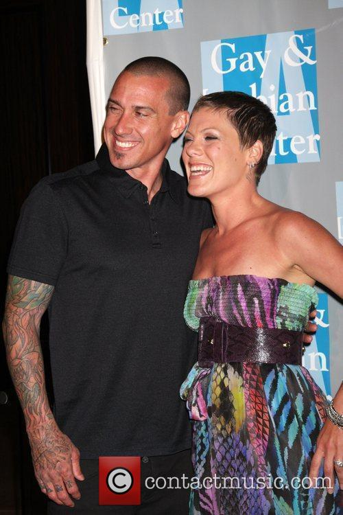 Carey Hart, Alecia Moore and Pink 10