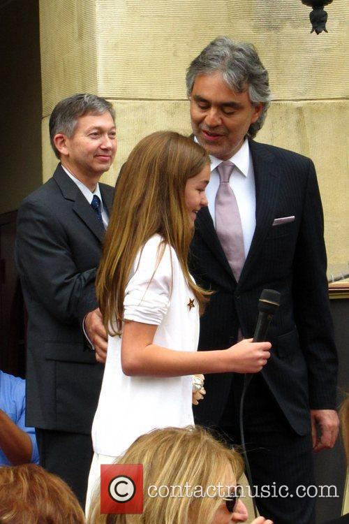 Andrea Bocelli and Claire Nordstrom 2