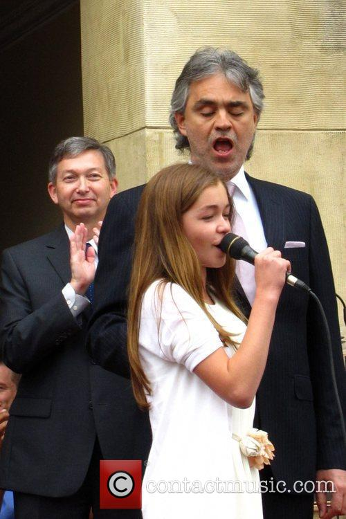 Andrea Bocelli and Claire Nordstrom 1