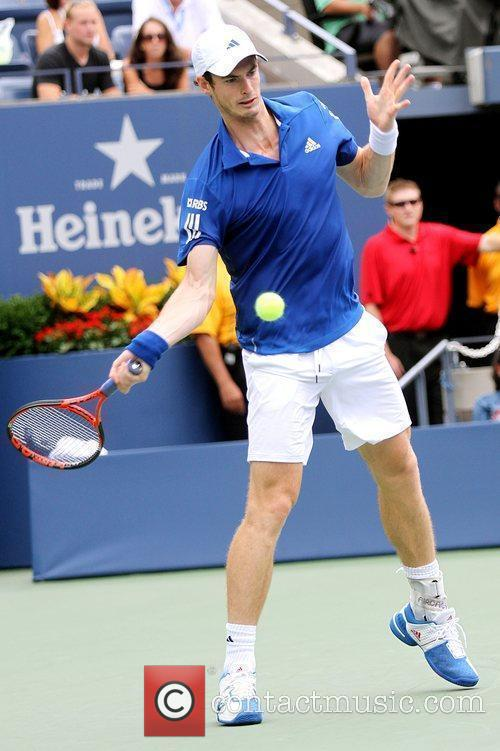 Andy Murray  Andy Murray (GBR) competes against...