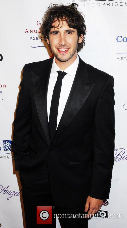 Josh Groban Gabrielle's Angel Foundation for Cancer Research...
