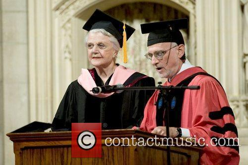 Receives an honorary Doctor of Musical Arts degree...