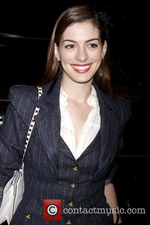 Anne Hathaway, Fantasia, In America and Tony Kushner 6