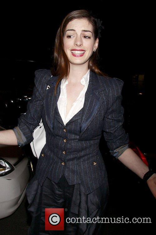 Anne Hathaway, Fantasia, In America and Tony Kushner 2
