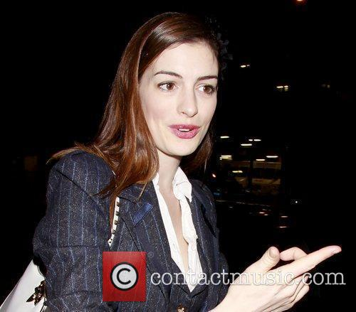 Anne Hathaway, Fantasia, In America and Tony Kushner 3