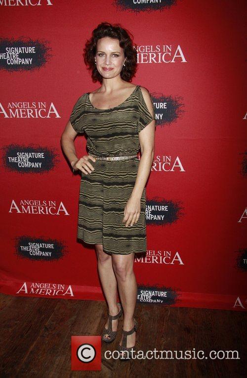 Carla Gugino, Fantasia, In America and Tony Kushner 2