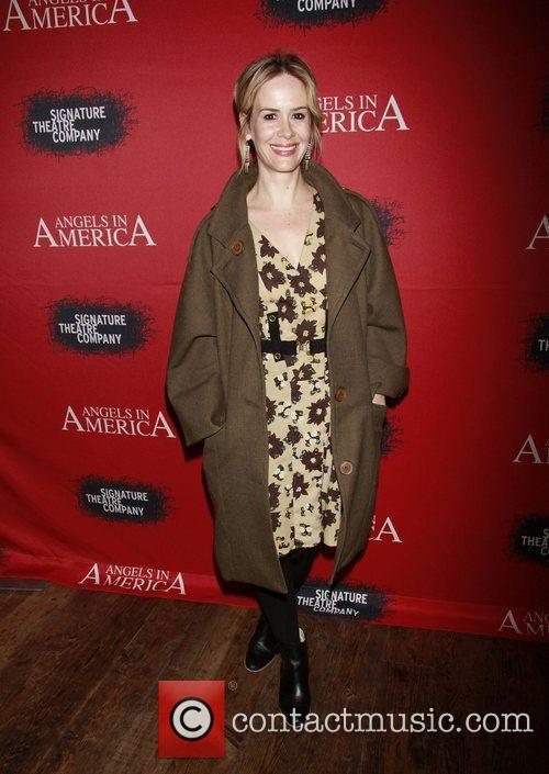 Sarah Paulson, Fantasia, In America and Tony Kushner 2