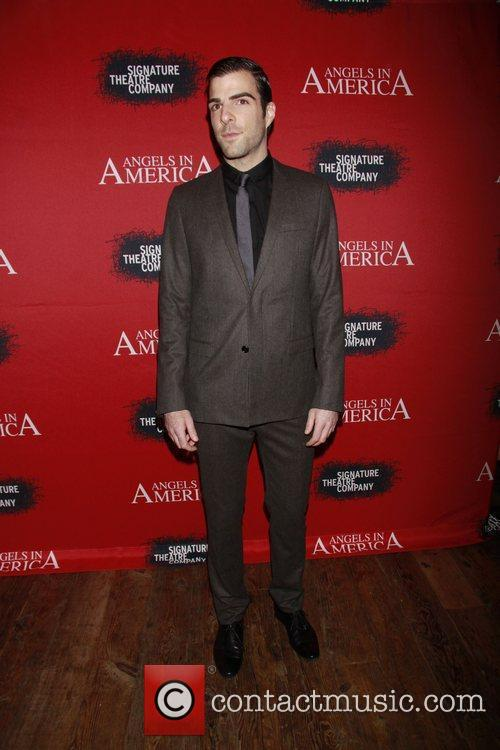 Zachary Quinto, Fantasia, In America and Tony Kushner 1