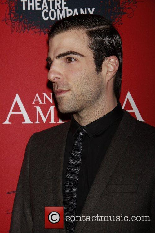 Zachary Quinto, Fantasia, In America and Tony Kushner 2