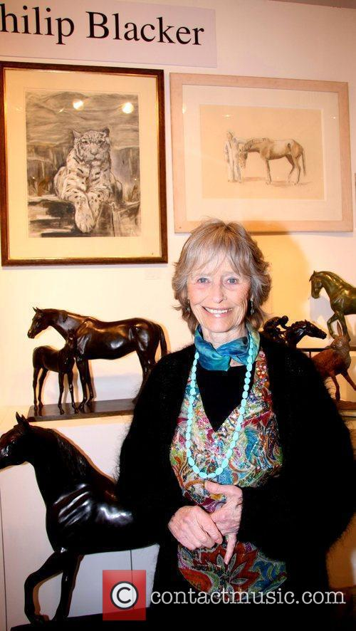Virginia McKenna Animal Art Fair at Fulham Palace...