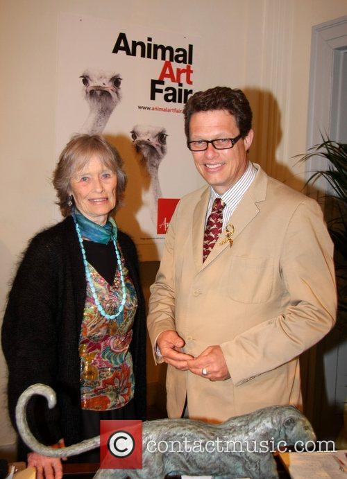 Virginia McKenna and her son William Travers Animal...