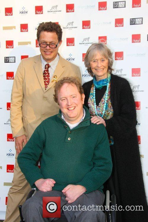 William Travers, Jamie Polk and Virginia McKenna Animal...