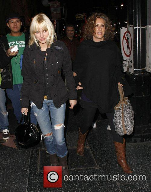 Anna Faris out and about on Hollywood Boulevard...