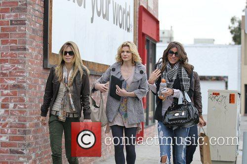 AnnaLynne McCord, her sister Angel and a friend,...