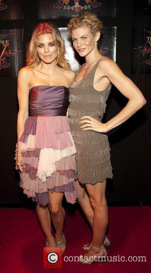 Annalynne McCord and her sister Angel McCord at...