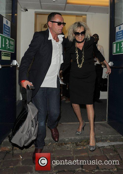 Annie Nightingale leaves the BBC Maida Vale studios,...