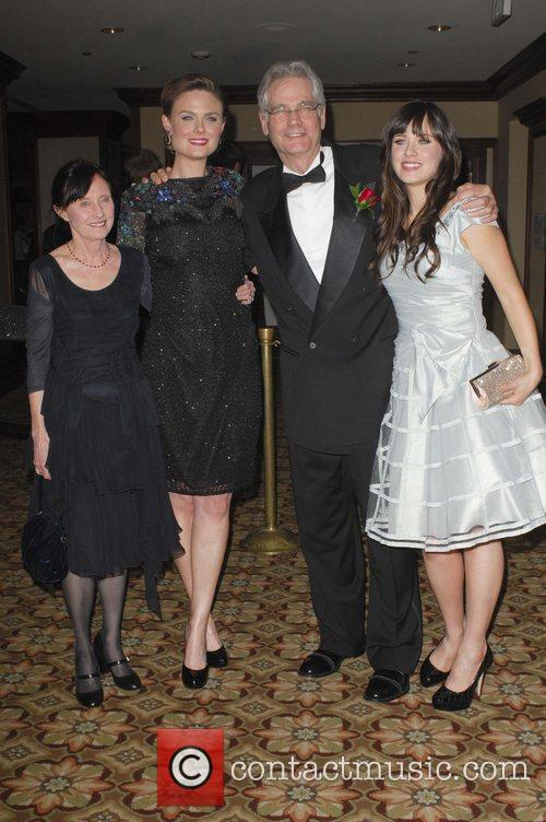 Caleb, Emily and Zooey Deschanel attend the '24th...