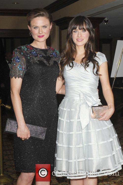 Emily and Zooey Deschanel attend the '24th Annual...