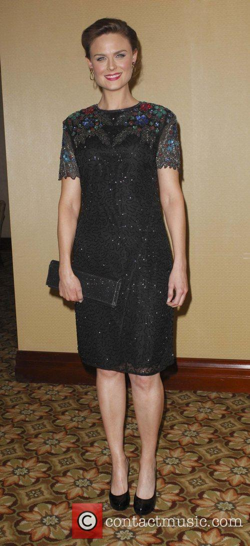 Emily Deschanel attend the '24th Annual American Society...