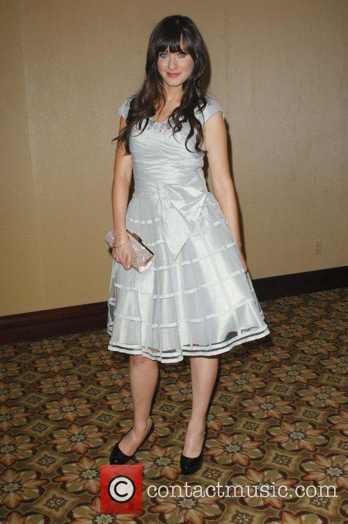 Zooey Deschanel attend the '24th Annual American Society...