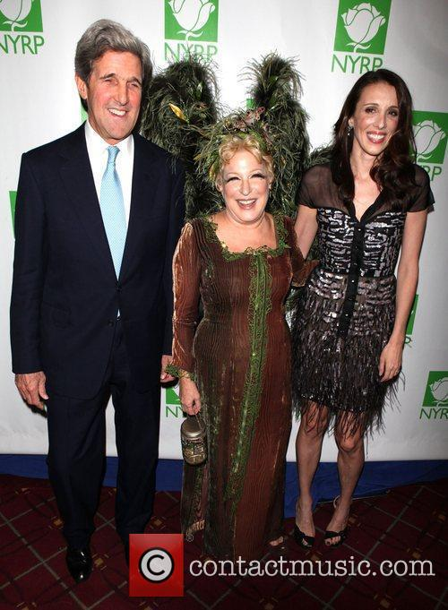 John Kerry and Bette Midler 3