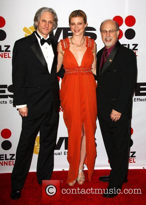 Jeff Okun, Amy Smart and Eric Roth 8th...