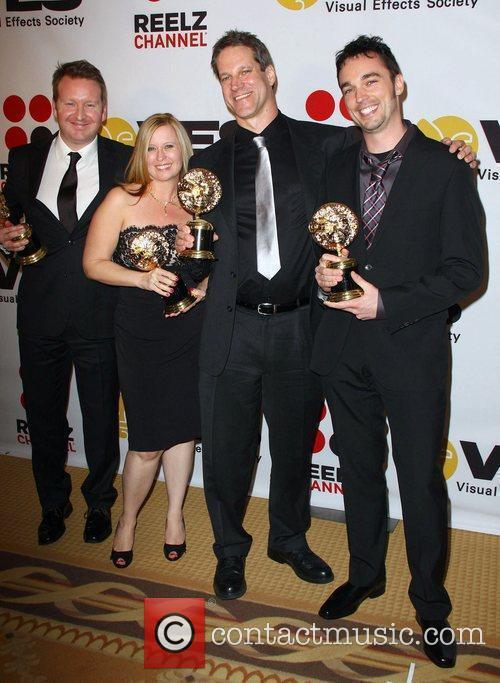 Rik Shorten, Sabrina Arnold, Steve Meyer and Derek...