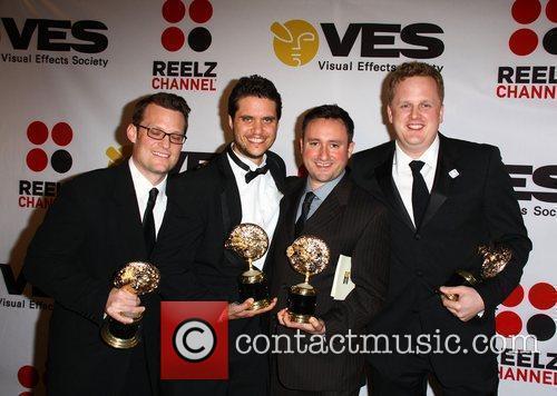 Robert Moggach, Ryan Meredith, Jens Salzala and Michael...